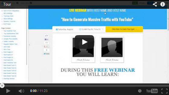 Learn How to Easily Create Landing Pages, Sales Pages, and Webinar Pages