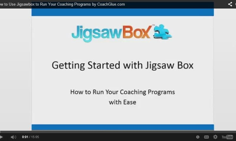 How to Use Jigsawbox to Run Your Coaching Programs