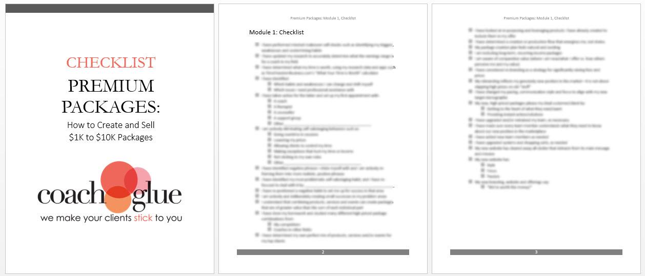 Module 1 Checklist-new