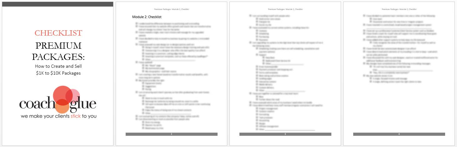 Module 2 Checklist2-new