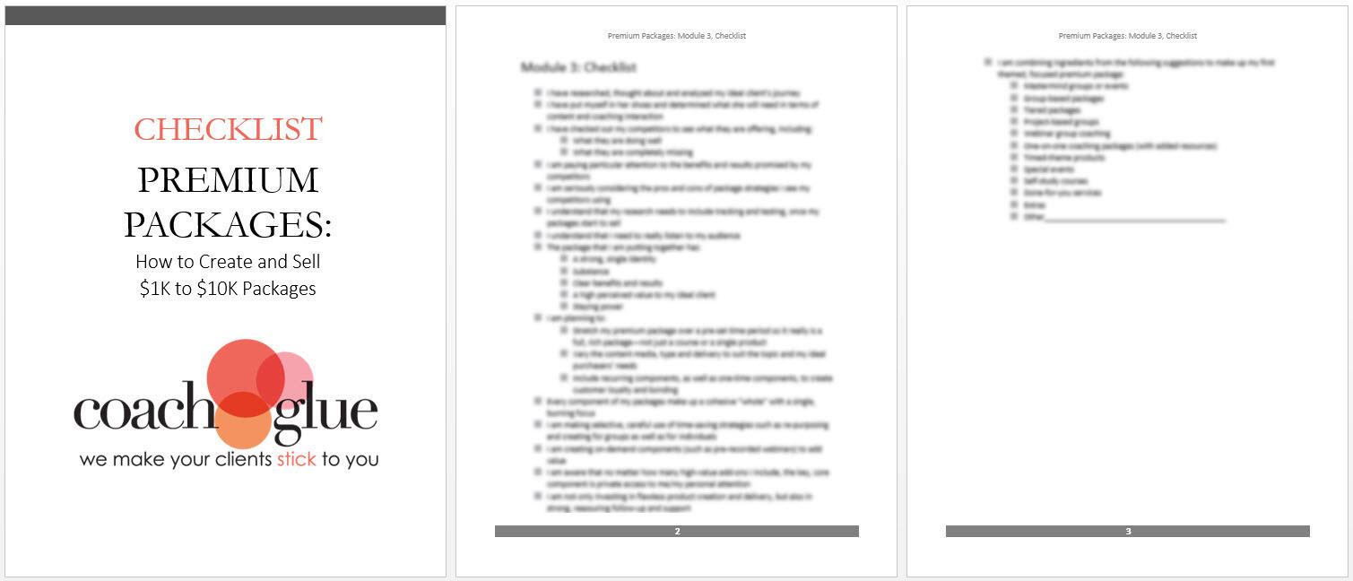 Module 3 Checklist2 new