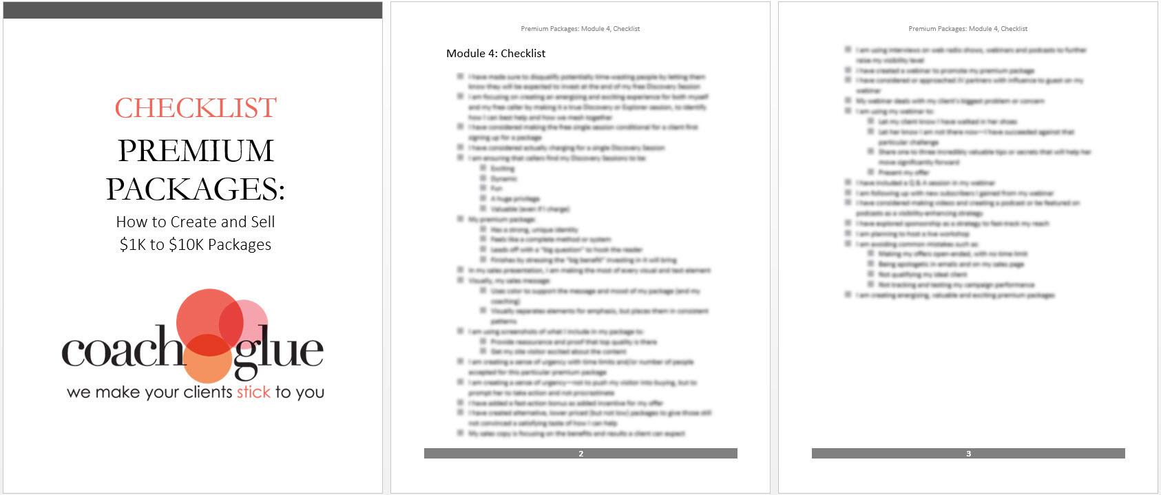 Module 4 Checklist2 new
