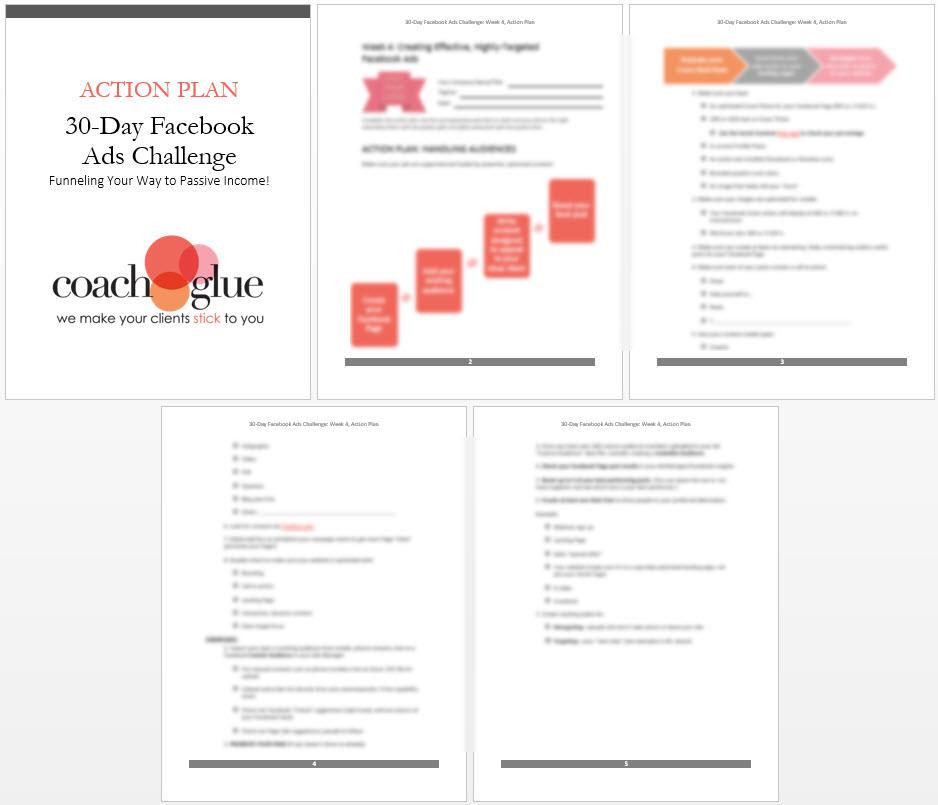 week 4 action plan