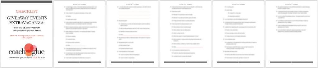 module 1 checklist