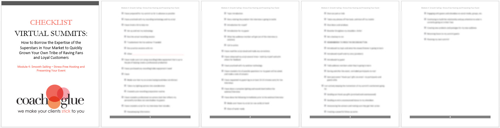 module 4 checklist