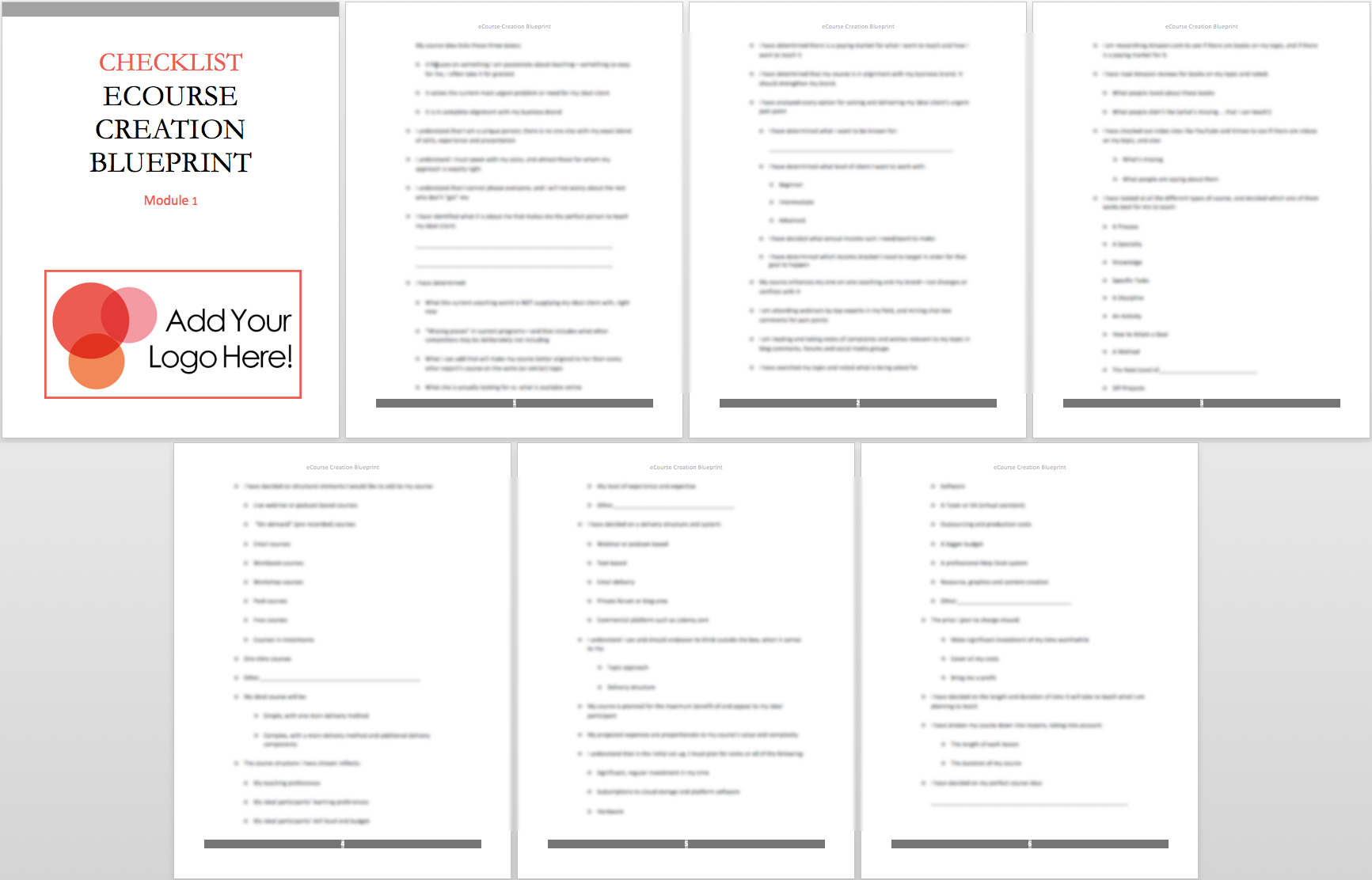 mod-1-checklist