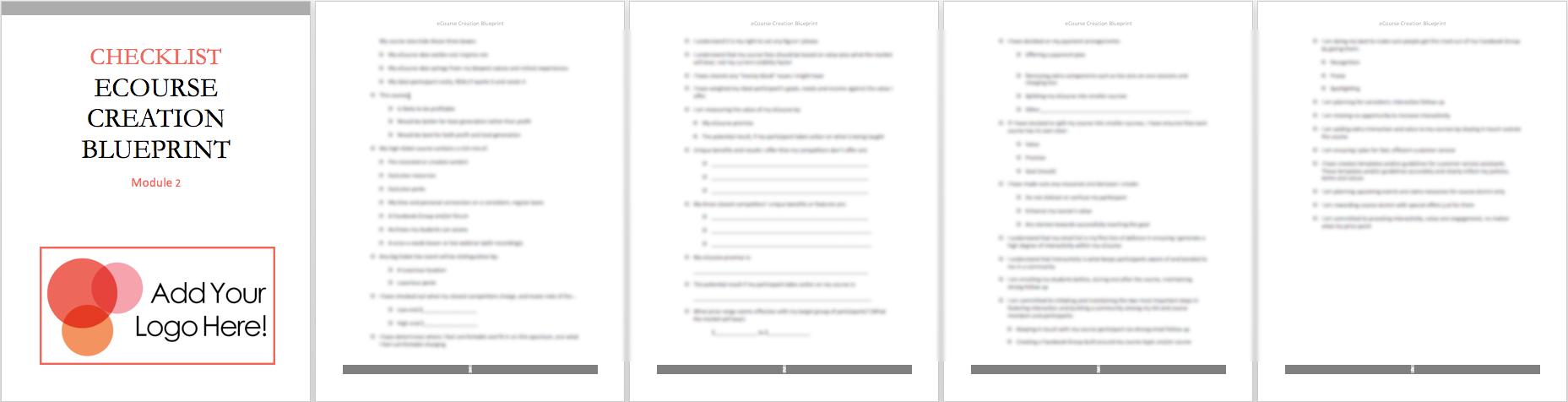 mod-2-checklist