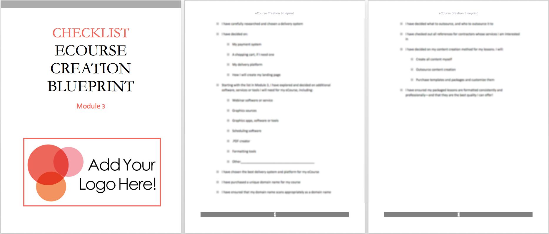 mod-3-checklist