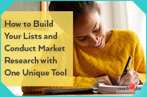 Build Your List and Conduct Market Research with this One Unique Tool