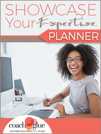 Showcase Your Expertise Planner