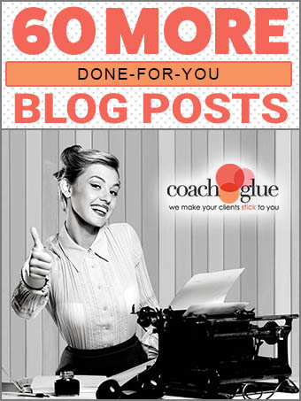 60 More Done For You Blog Posts