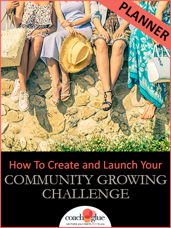 How To Create And Launch Your Community Growing Challenge Planner