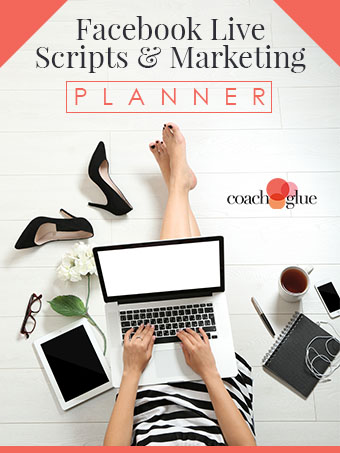 Facebook Live Script & Marketing Planner