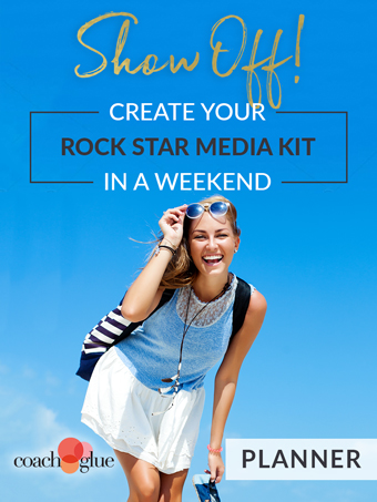 Show Off! Create your Rock Star Media Kit in a Weekend